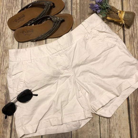 J. Crew Pants - J.CREW White Size 8 In Excellent Condition Shorts